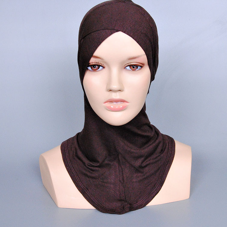 21 Colors Stock Muslim Hijab Cap China Wholesale Head Scarf Hijab OEM Cotton Inner Hijab