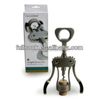 HEAVY DUTY WINGED CORKSCREW WINE/BOTTLE CAP OPENER