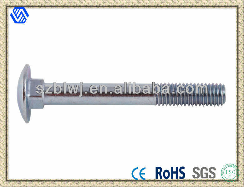 3/8 X 3 Inch Galvanized Carriage Bolt