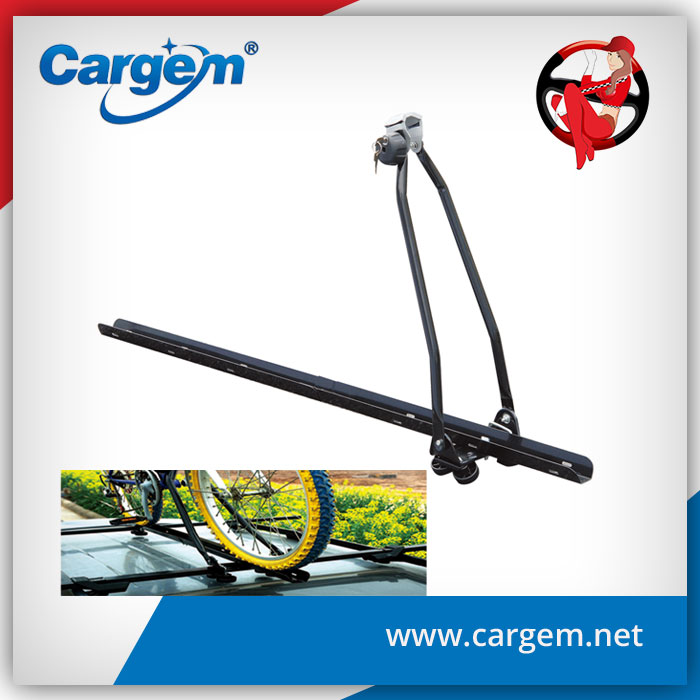 CARGEM Universal Car Roof Carrier Bike Rack With Lock