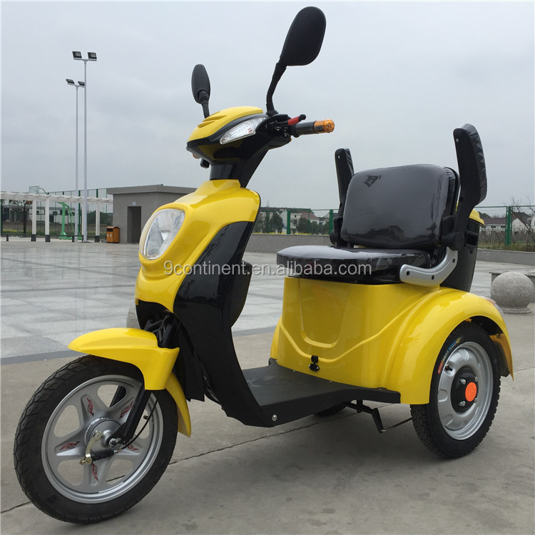 electric elder scooter with reverse gear /1000w 3 wheel electric scooter/motor scooter trike