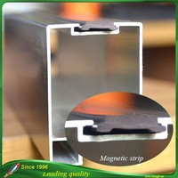 Rubber magnetic seal strips for windows and doors