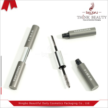 Best Selling matte gray custom 4ml dual head eyeliner with eyelash bottle/container