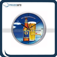 Promotional Circle 12 Inch Wall Clock Sticker