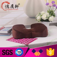 China Supplier orthopedic hemorrhoid seat cushion, memory foam seat cushion for chair coccyx