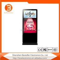 Stand Alone iPhone & iPad Style Digital Signage LCD Advertising Display With 3G Wifi Network