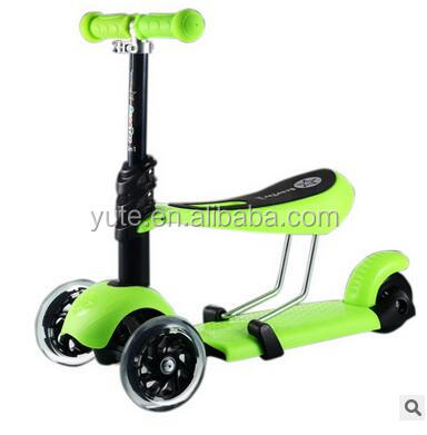 New Cheap Kids Scooter Seat Plastic Children Kick Scooter With Seat