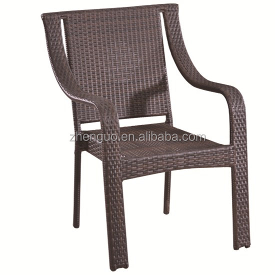 butterfly steel frame and rattan covered rattan chair