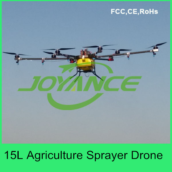 agricultural sprayer drone for farming with gps