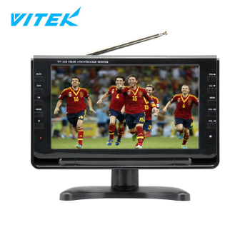 2018 Worldcup Popular Model 7 inch portable dvb-t2 lcd tv,Full Seg 9 inch led tv price,Mini pocket digital tv