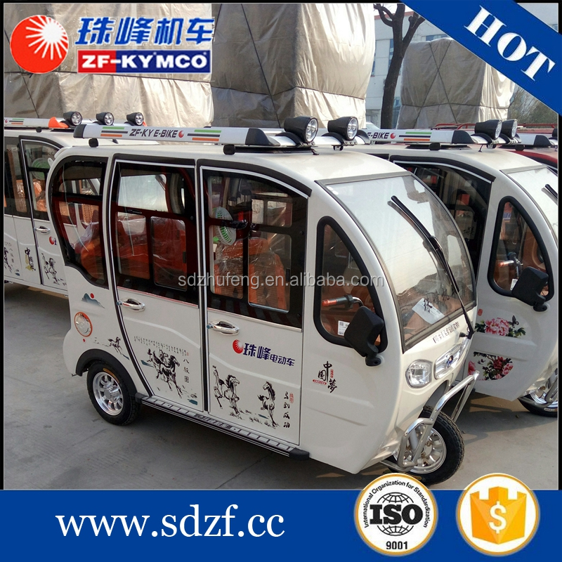 chinese electric trike tricycles for passengeer closed