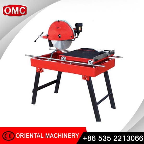 3HP 110mm cutting depth hand manual sliding tile and marble saw