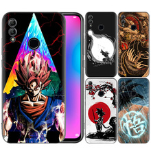 Cover Silicone Case Black Bags for Huawei Honor <strong>10</strong> 20 Lite Pro 10i 8X 8C 8A Play Nova 4e Dragon Ball <strong>Z</strong> Tattoo