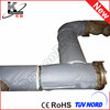 Fiberglass stainless steel pipe cover
