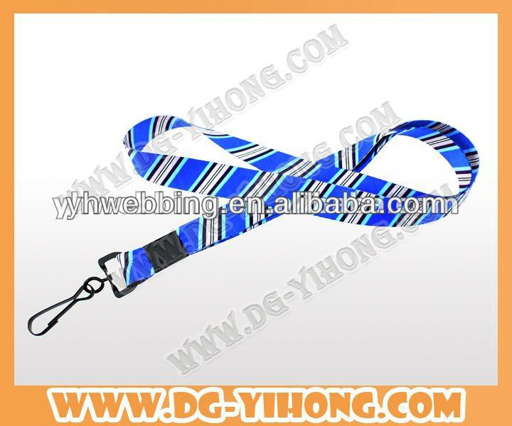 2013 new products polyester sublimation lanyard gift item wholesale china merchandise