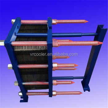tube and shell heat exchanger Vrcooler preheater