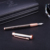 Luxury Leather Covered Metal Pen for business gift or Souvenir gift