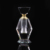 Small Travel Perfume Bottles K9 Crystal Mini Sample Clear Women Refillable Containers Bottle Home Decorate