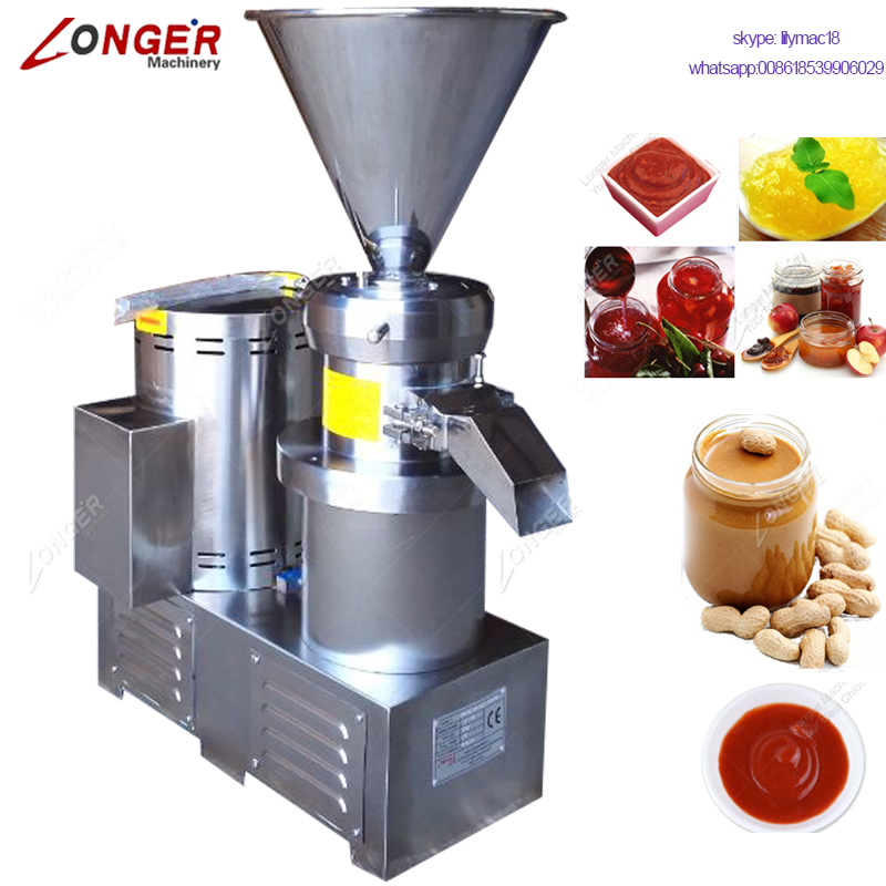 Industrial Tomato Sauce Grinding Garlic Onion Paste Making Machine For Industrial Jam