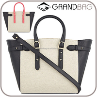 latest design 100% Genuine Leather lady handbag custom, branded handbag, leather satchel women