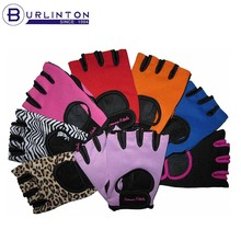 Women Fingerless Sports Gloves Fitness Glove