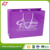 OEM custom logo printed eco-friendly boutique laminated paper bags for shopping