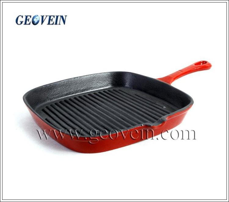 Non-stick Cast Iron Induction Pots And Pans Cookware Set