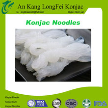 Top quality weight loss oem konjac raw materials in making noodles
