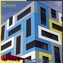 Amywell ANTI-UV externer decorative board exterior high pressure laminate