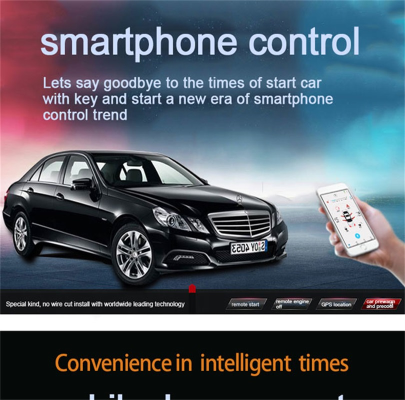 us $360 0 gsm remote control module remote engine starter auto security systems car lock for mercedes benz ml w166 gl gls x166 in burglar alarm from Mercedes-Benz Car Keys