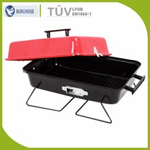 Picnic equipment Hamburger New Style Portable Charcoal Bbq Grill Outdoor