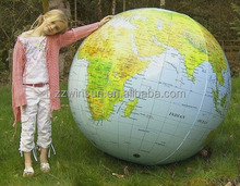 Different size inflatable earth globe beach ball for sale
