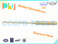 Non-Sparking Aluminum Bronze Slotted Screwdriver,Explosion-proof Al-Br Screwdriver