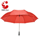 Big Size Sturdy Auto Open 2 Fold Golf Umbrella With Wooden Handle