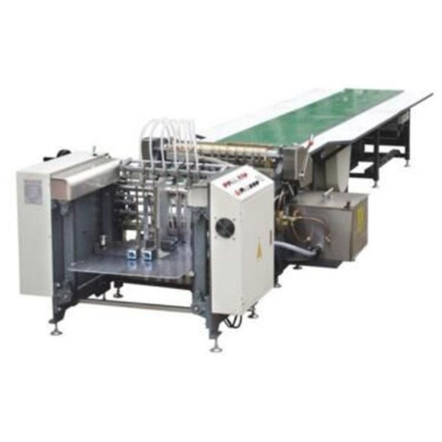 GS-650A small production line watch packaging box automatic rigid box making machine