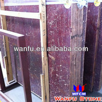 High Quality Natural Rojo Alicante Marble