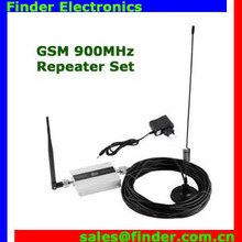 High power GSM900D Mobile Cell Phone Signal Booster Amplifier RF Repeater Kit GSM Signal Repeater With Cable + Antenna