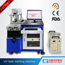 high-precision laser trademark printing batch code for the plastic uv laser marking machine Laser engraving machine