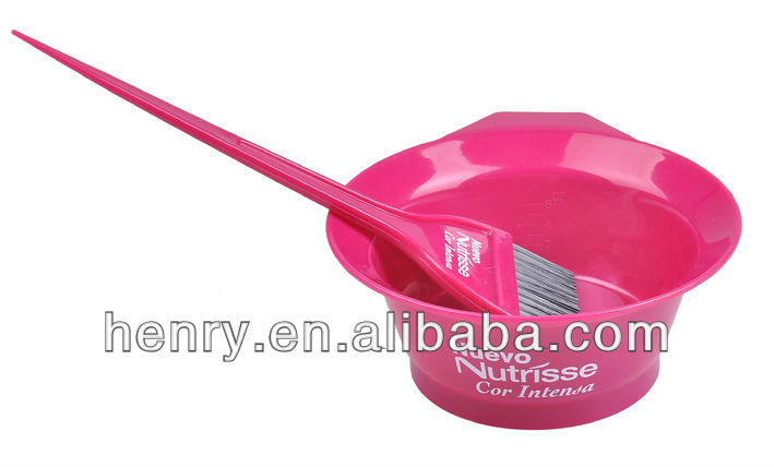 tinting brush & bowl