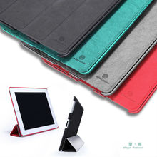 For Apple iPad 2/The new ipad/iPad 4 Tree-texture Leather case