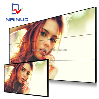 46 inch LCD display split screen wallseamless 3.9mm supper slim lcd video wall Price