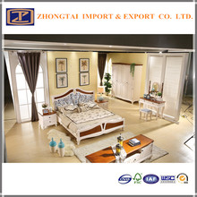 OVER 15 years experience manufacturer solid wood King Size Bed For Hotel Furniture