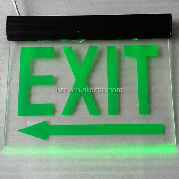 Double-side Hanging Rechargeable Led Emergency Exit Sign