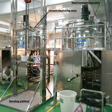 Wax making machine, liquid lubricant blending plant, blending machine for lube oil
