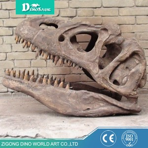 Wholesale Realistic Resin Dinosaur Skeleton