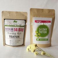 14 day detox tea wholesale slim detox tea no side effect to improve skin