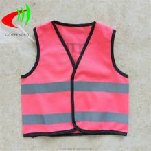 pink hi vis vest safety clothing for children