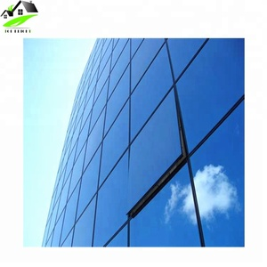 Building materials aluminum and reflective glass curtain wall