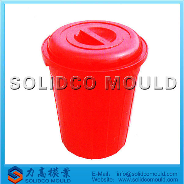 good quality plastic bucket mould with opening cover