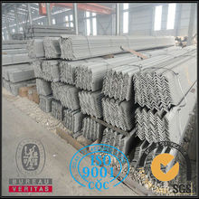 Prime ss400 tensile strength of steel angle bar in china